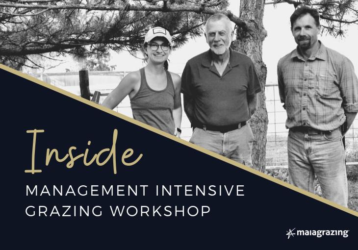 Inside: Management-intensive Grazing Workshop