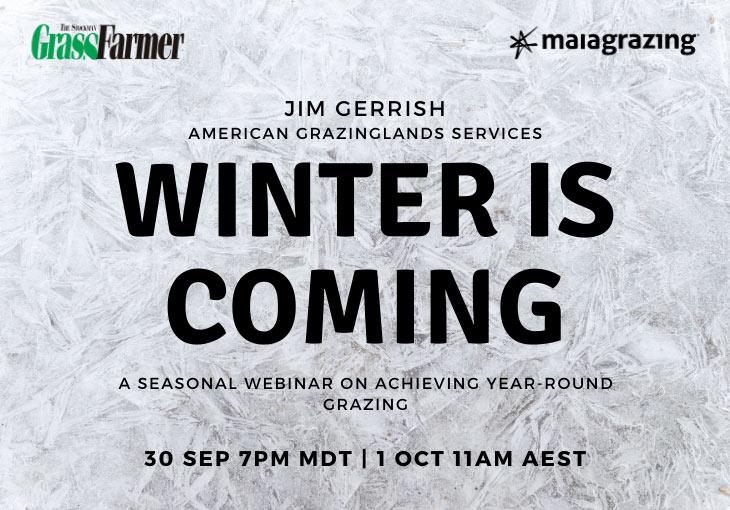 Winter is Coming – Jim Gerrish Webinar
