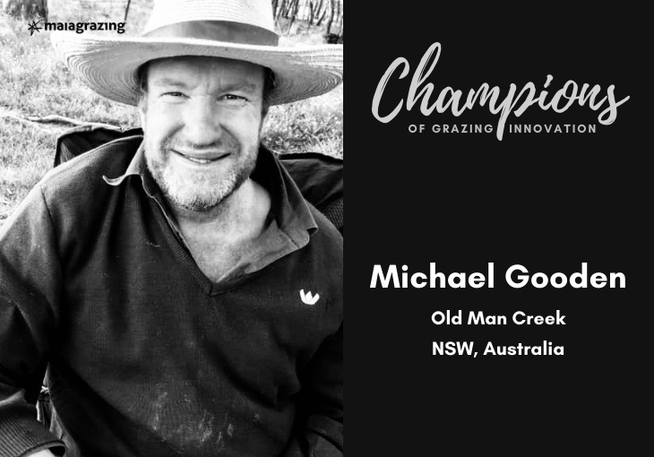 Champions of Grazing Innovation 6: Michael Gooden