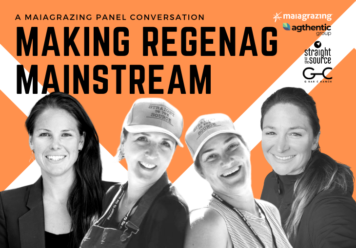 Making RegenAg Mainstream – Why and How it impacts Farmers