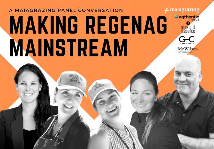 Panel: Making RegenAg Mainstream